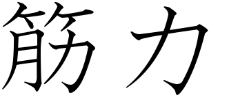 Japanese word for physical strength